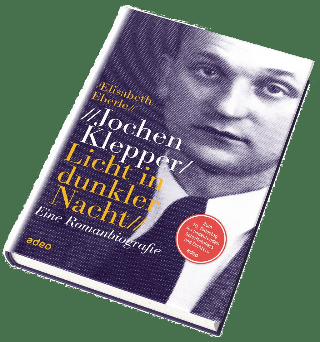 Buchcover: Licht in dunkler Nacht - eine Romanbiografie über Jochen Klepper der Autorin Elisabeth Eberle